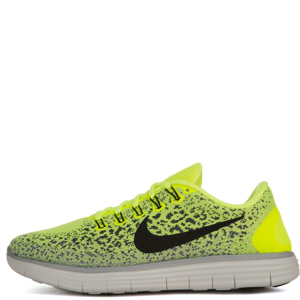 00f5f44be61c Nike Free Running Distance Neon Yellow Black White