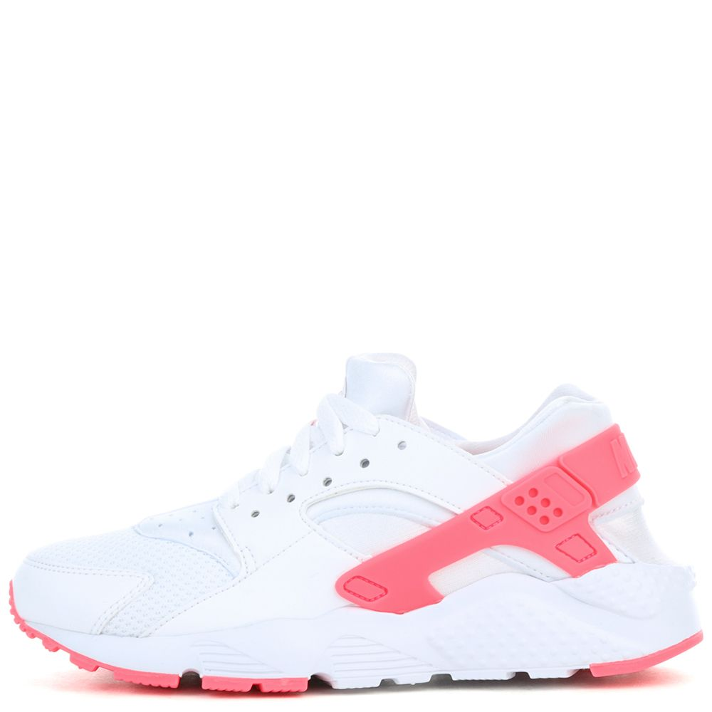 HUARACHE RUN (GS) WHITE RACER PINK 615fec522e00