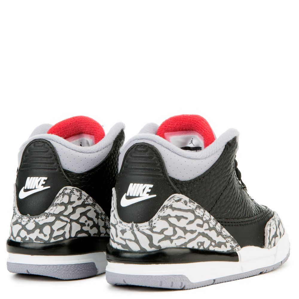 b8a3756169b Air Jordan 3 Retro OG BLACK FIRE RED CEMENT GREY WHITE