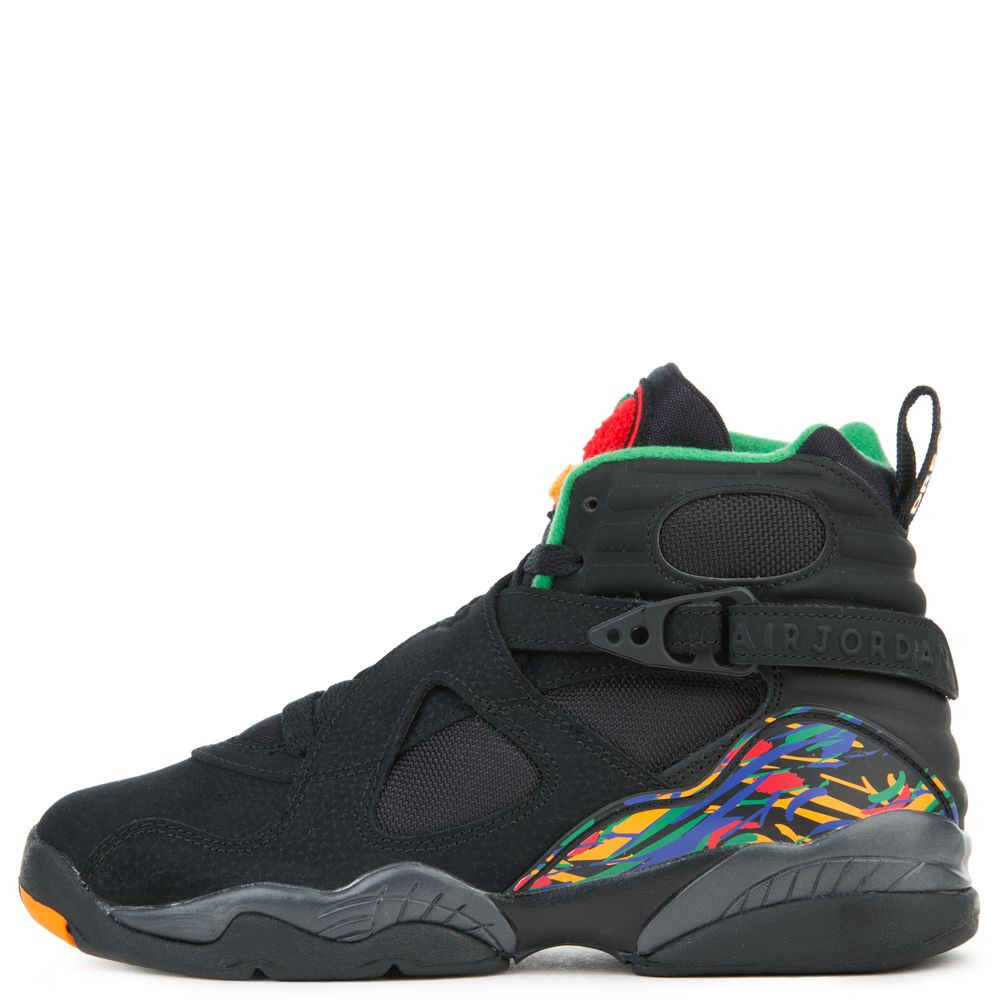 fce54eea6fd7ec (GS) JORDAN 8 RETRO BLACK LIGHT CONCORD-ALOE VERDE
