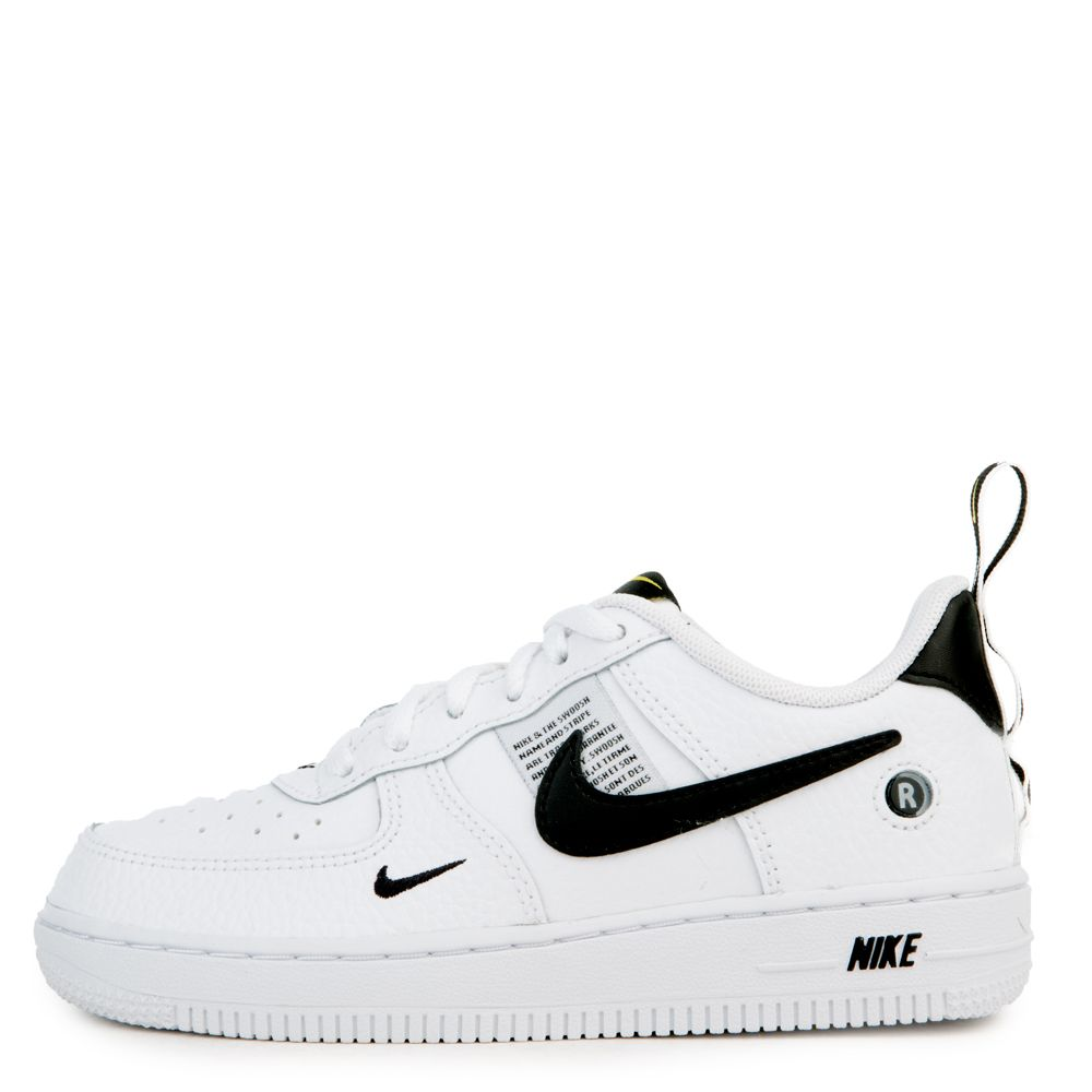 (PS) AIR FORCE 1 UTILITY WHITE WHITE-BLACK-TOUR YELLOW 006776700322