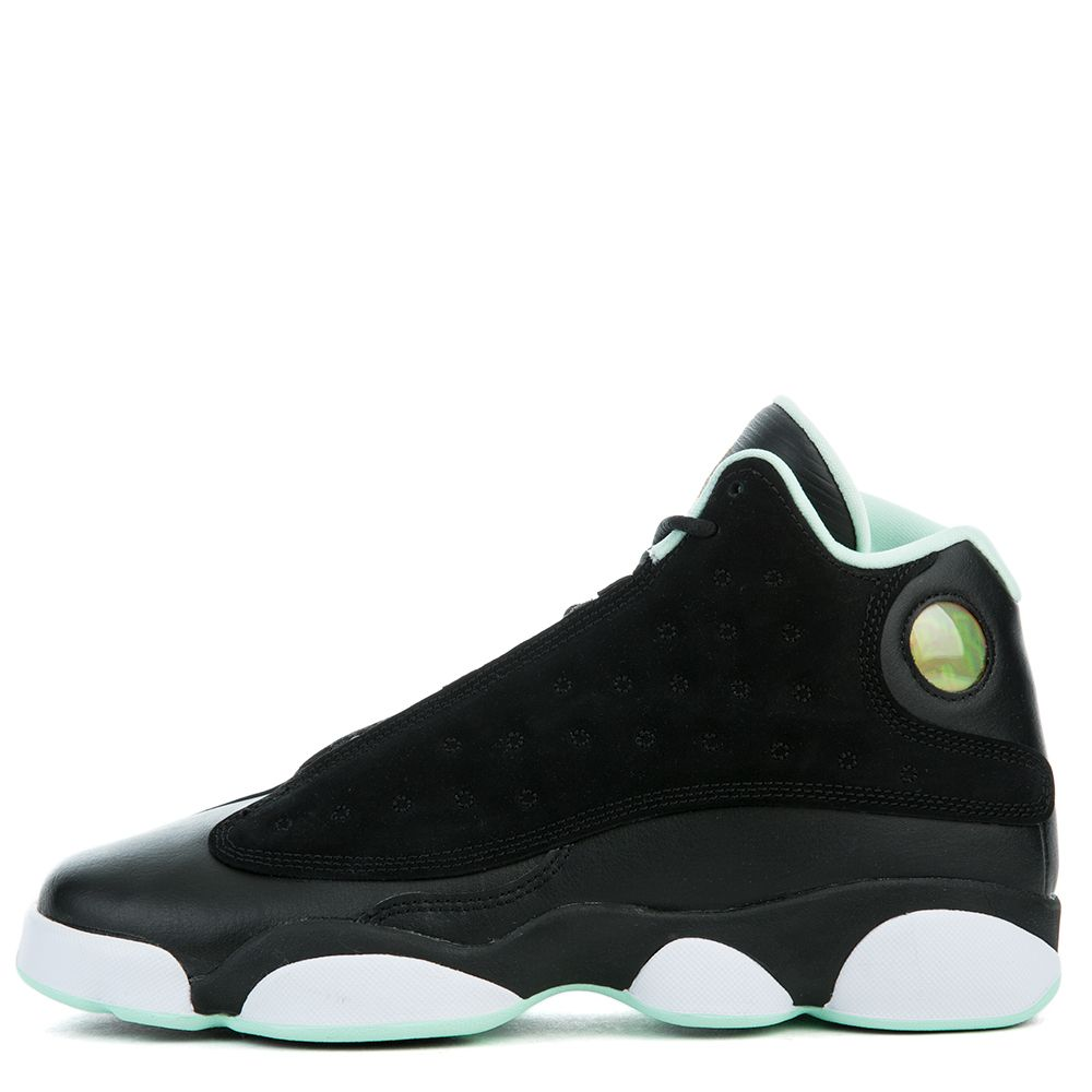 ff3fbda0062210 Air Jordan Retro 13 BLACK METALLIC GOLD-MINT FOAM-WHITE
