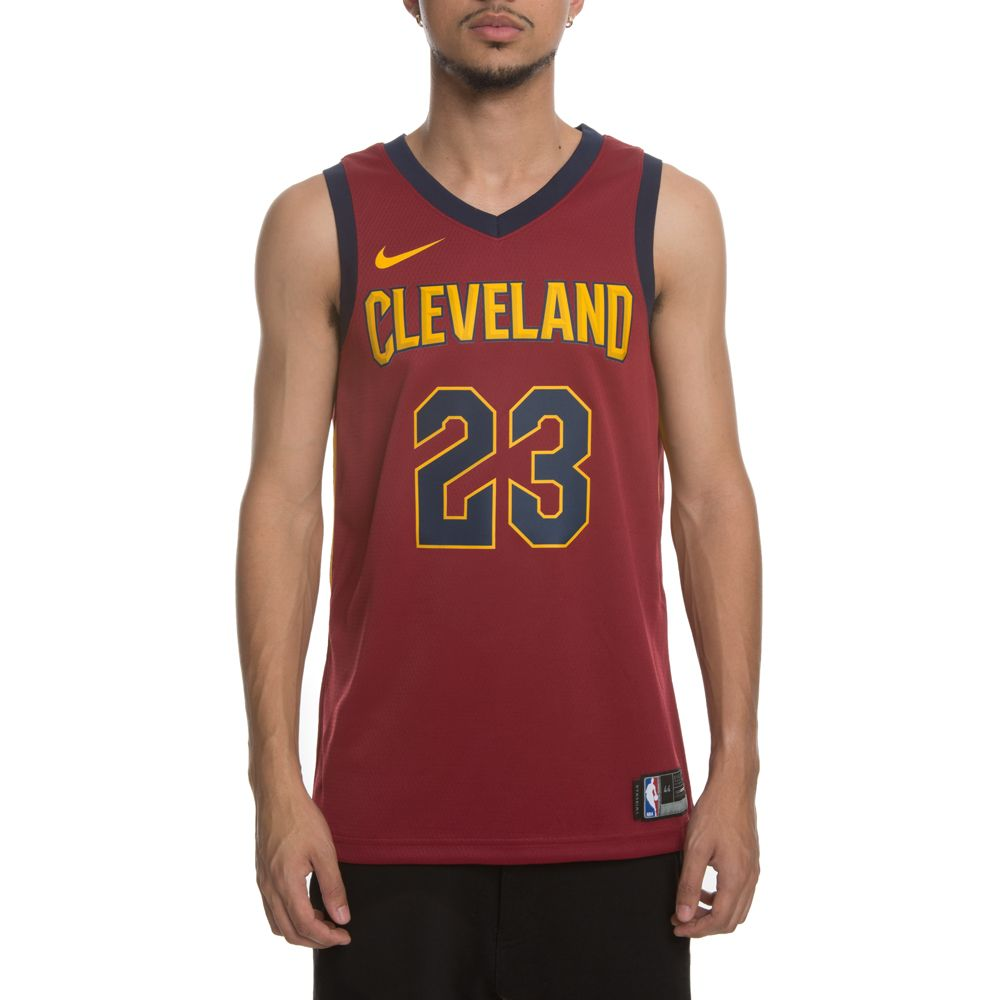 3b67a615d8e Men's Cleveland Cavaliers Swingman Jersey TEAM RED ...