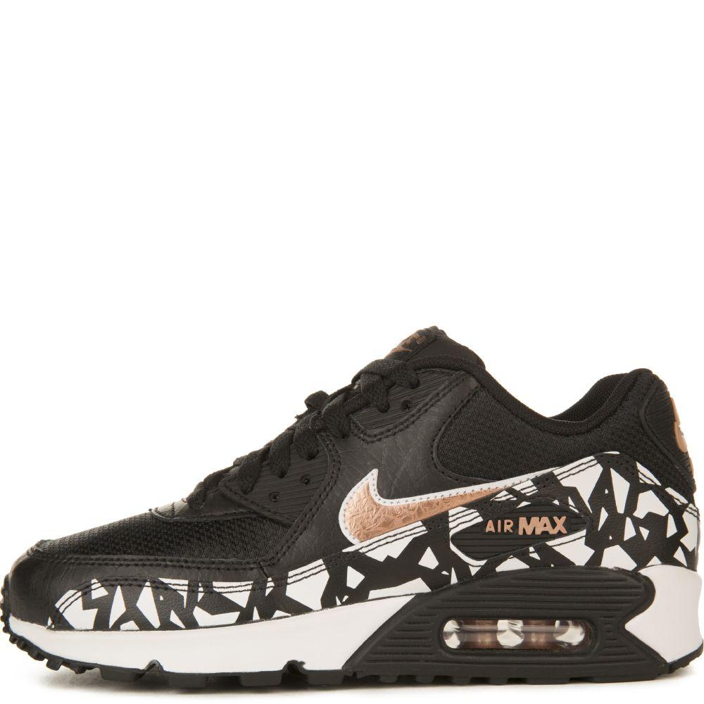 fa5b19ff5f Nike Air Max 90 FB (GS) Black/White/Red/Bronze