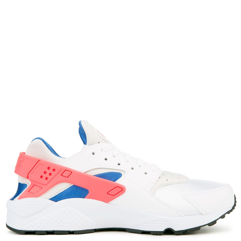 7941d763eaa MEN S NIKE AIR HUARACHE WHITE ULTRAMARINE SOLAR RED-BLACK
