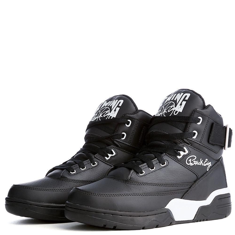 5257ba13396939 Men s Basketball Sneaker Ewing 33 Hi Black White