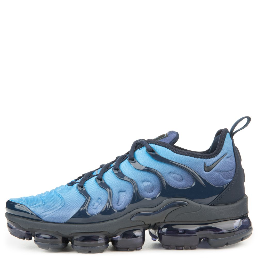 516fa6ddcbb Air Vapormax Plus OBSIDIAN PHOTO BLUE BLACK