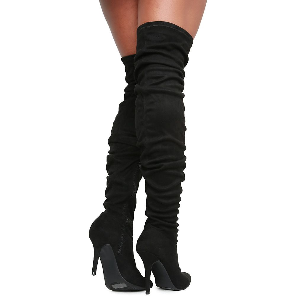 e4a9cd733b3 Women s Monet-23V Knee-High Boot Black