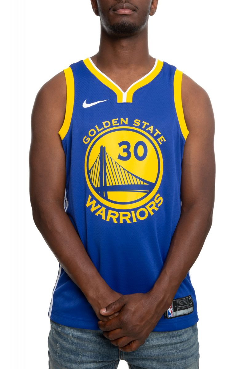 f881f68e5f5 GOLDEN STATE WARRIORS STEPHEN CURRY ICON EDITION SWINGMAN JERSEY