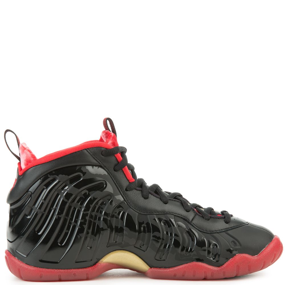 615036494bde8 Little Posite One Qs BLACK UNIVERSITY RED-METALLIC