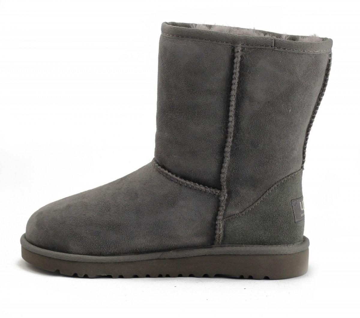 e7a6b7de710 UGG Australia for Kids: Classic Short Grey Boots Grey