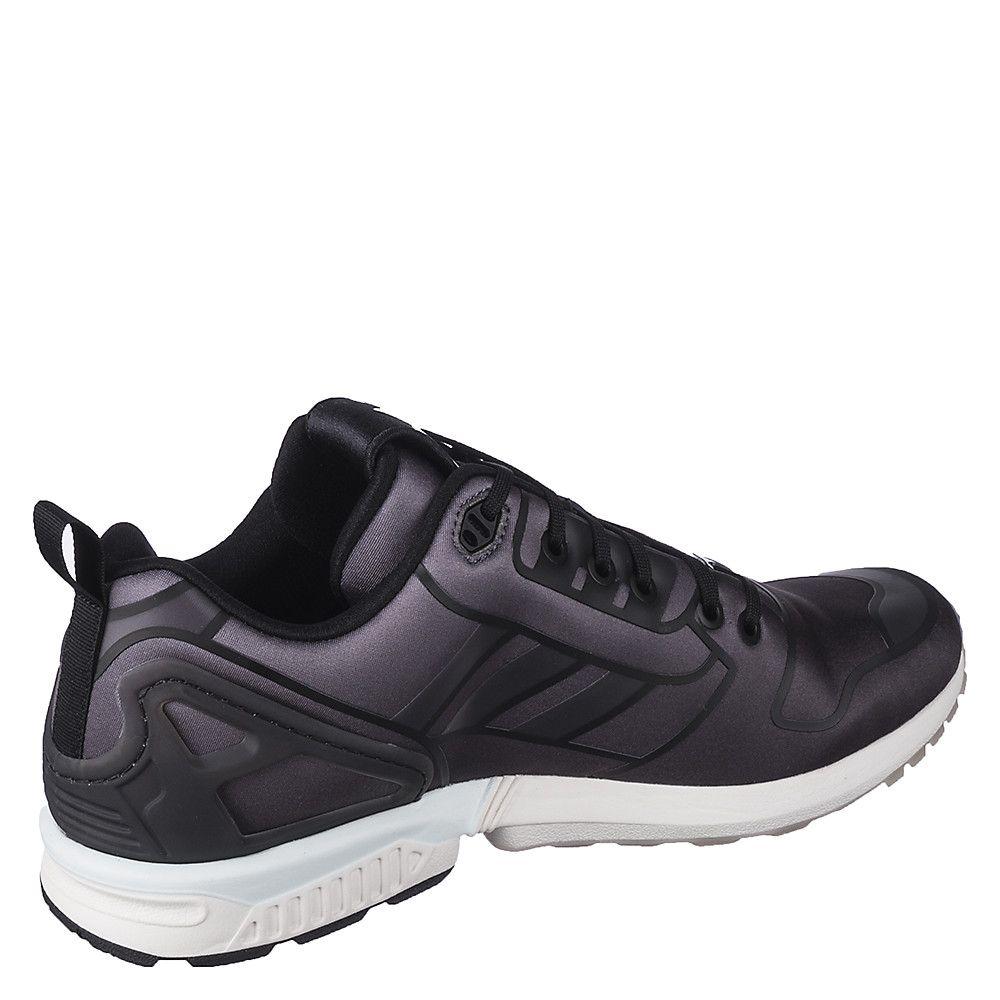 Men s Athletic Running Sneaker ZX Flux Black White 9a60b9893aa3