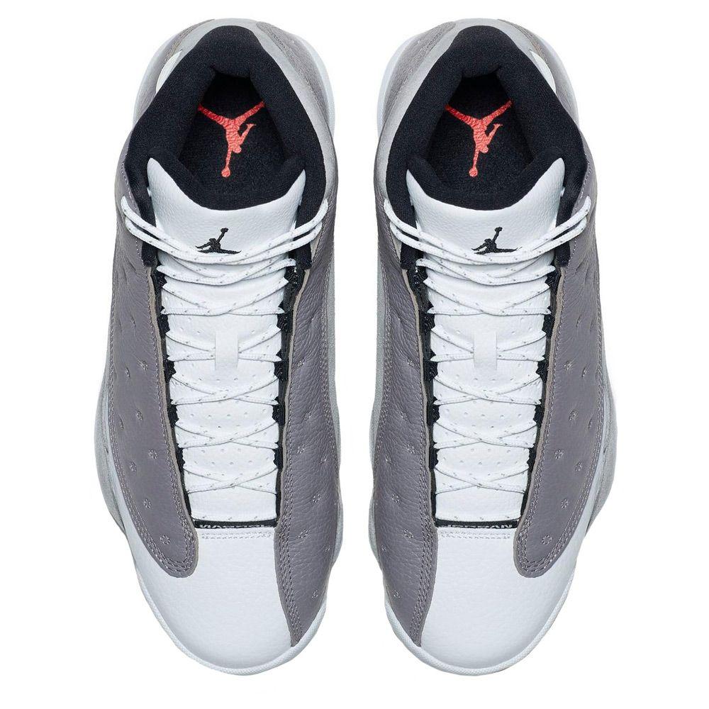 info for bf4f3 e2427 ... Air Jordan 13 Retro ATMOSPHERE GREY BLACK-WHITE
