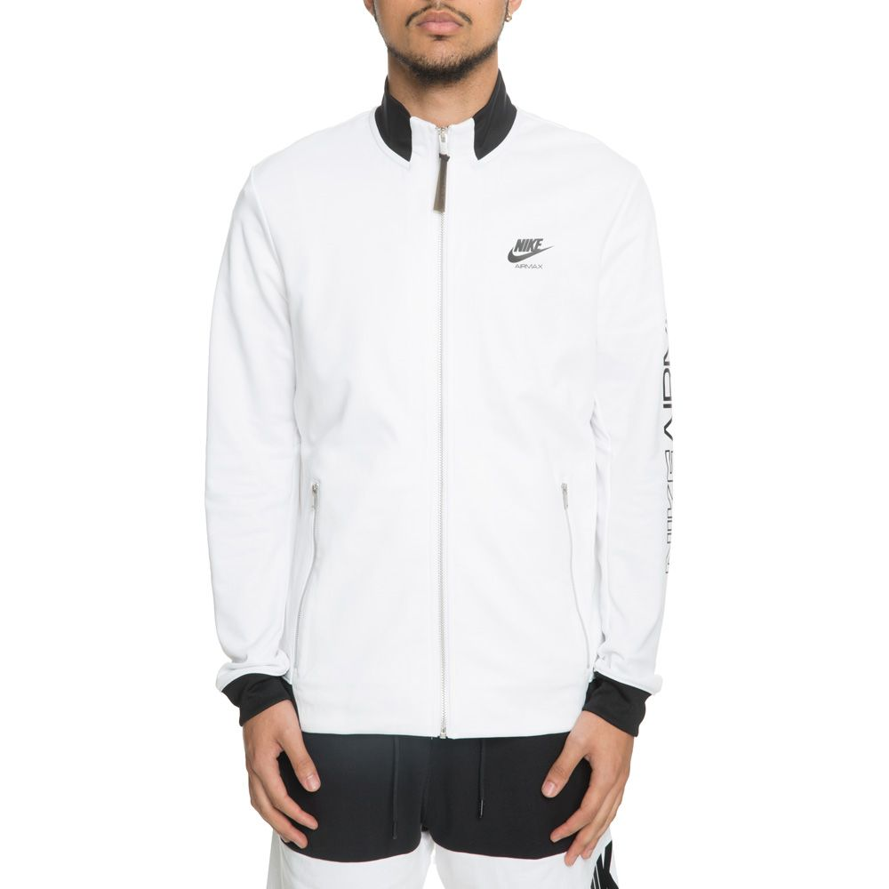 c296a1229b50 MEN S NIKE JACKET AIR MAX PK WHITE BLACK
