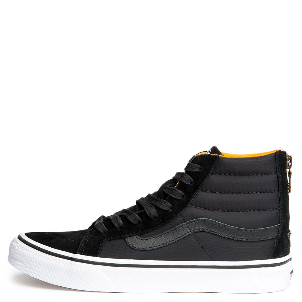 048f399d1f WOMEN S VANS SK8-HI SLIM ZIP BLACK TRUE WHITE
