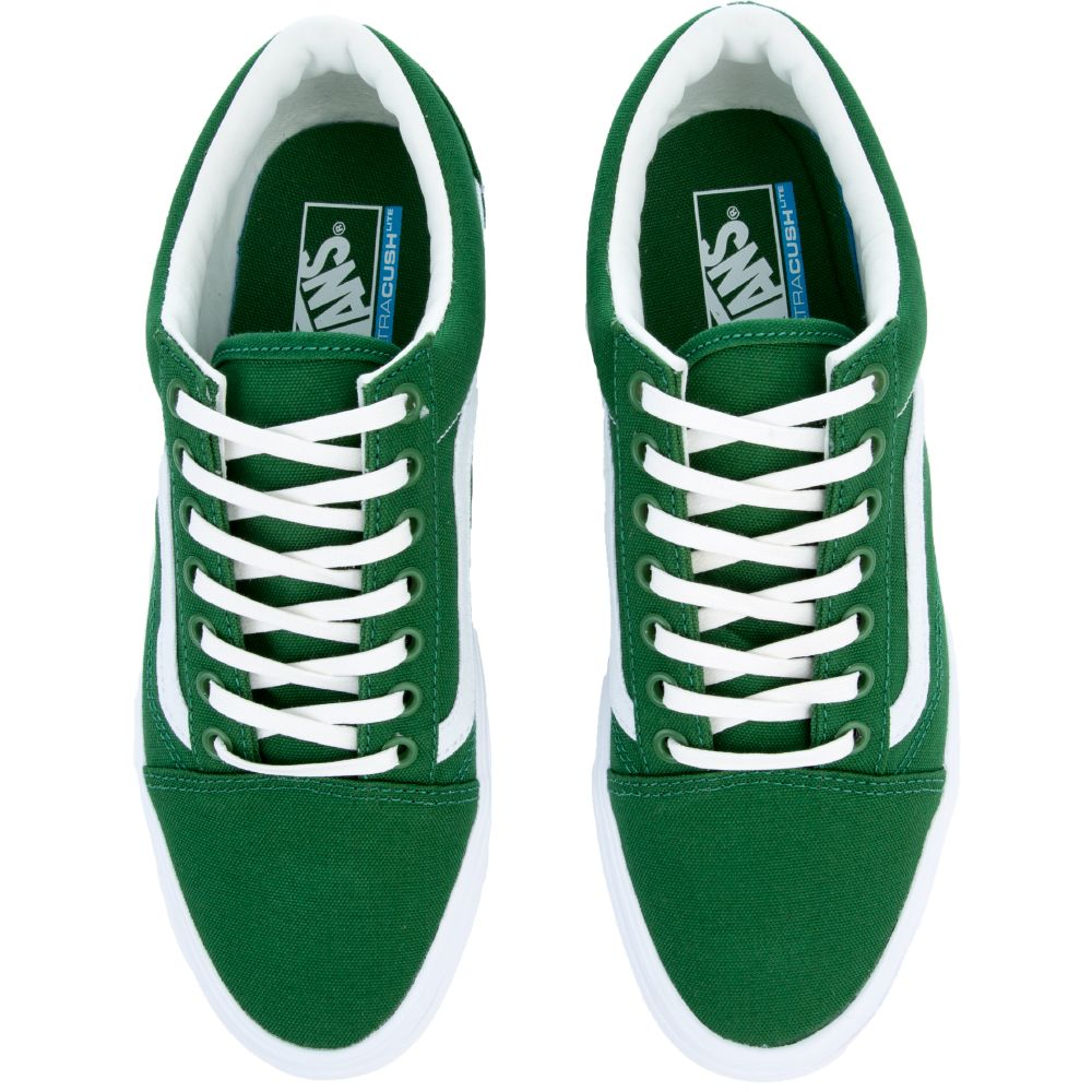 0106194ffbad VANS Sneaker Old Skool Lite Juniper Green White