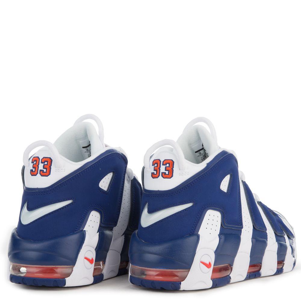 best website f744f 5961c ... czech mens nike air more uptempo 96 white deep royal blue team orange  eb116 9e42f