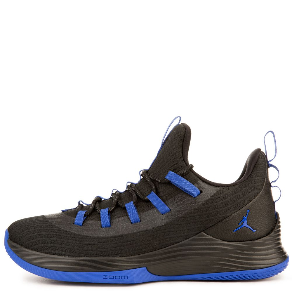 94268df722f6 Jordan Ultra Fly 2 Low BLACK HYPER ROYAL WHITE