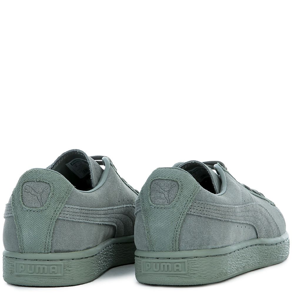Men s Suede Classic Tonal Sneaker AGAVE GREEN 40afeac94