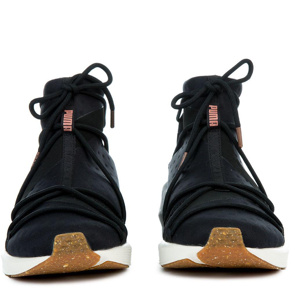 Women s Fierce Rope VR Sneaker PUMA BLACK WHISPER WHITE 76d68bcc0