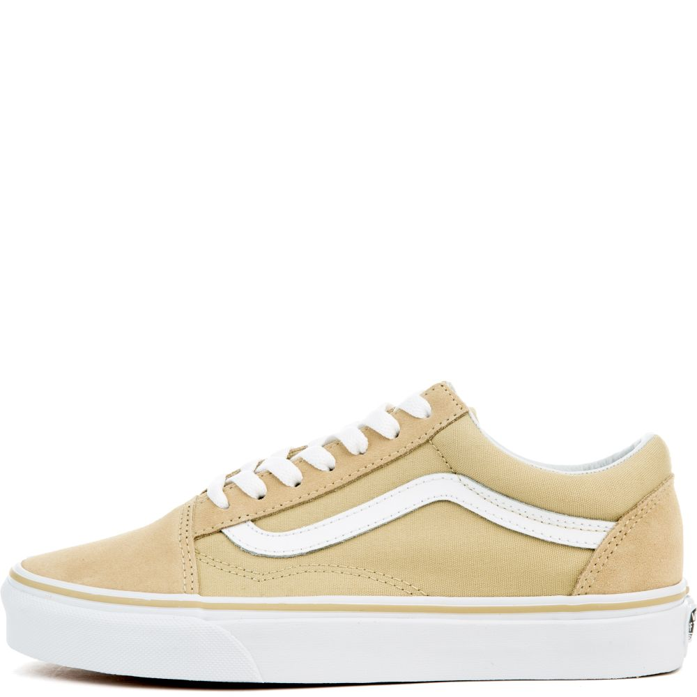 VANS Sneaker Old Skool Pale Khaki True White c257bd8219