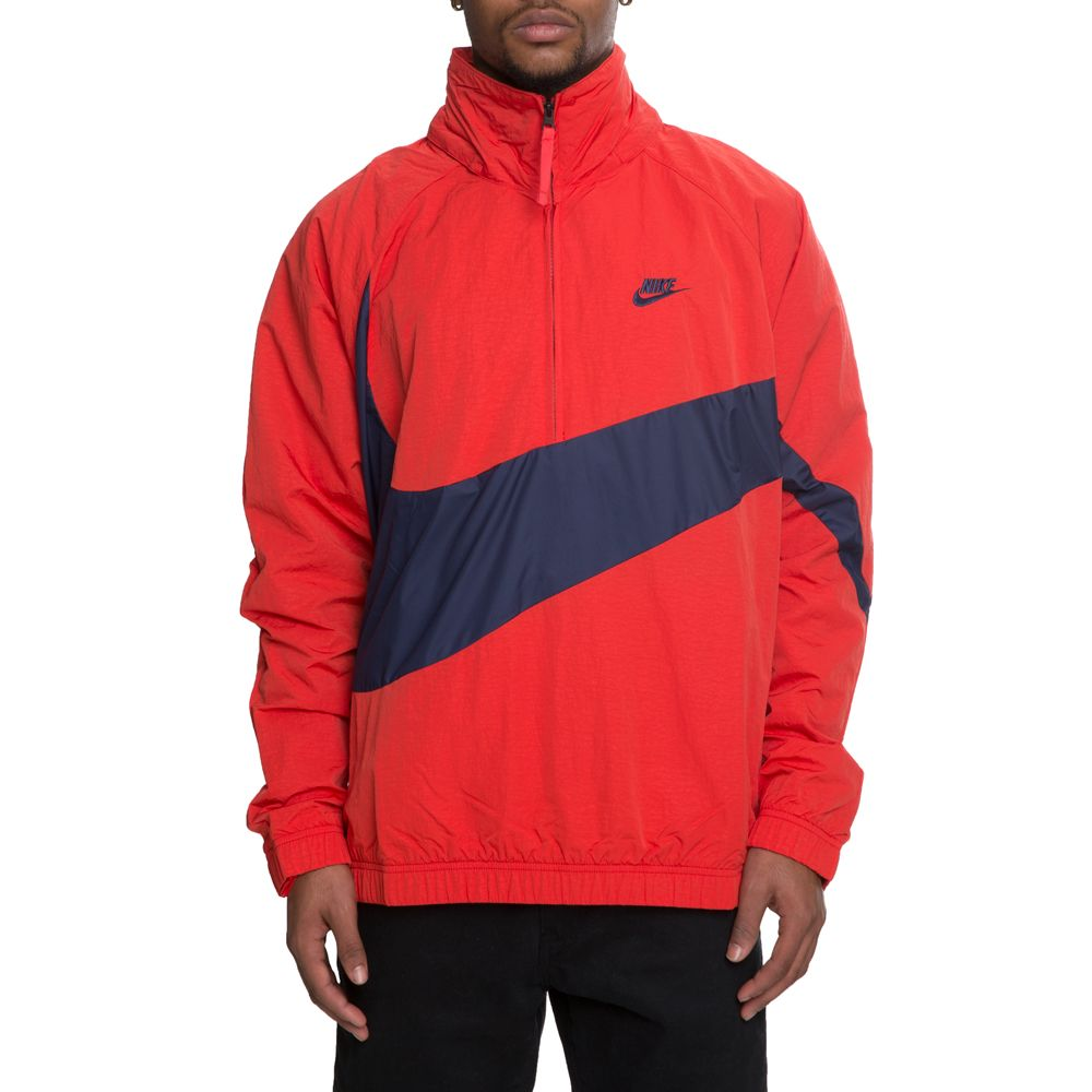 MEN S NIKE ANORAK JACKET UNIVERSITY RED MIDNIGHT NAVY 6b81b14bd21b