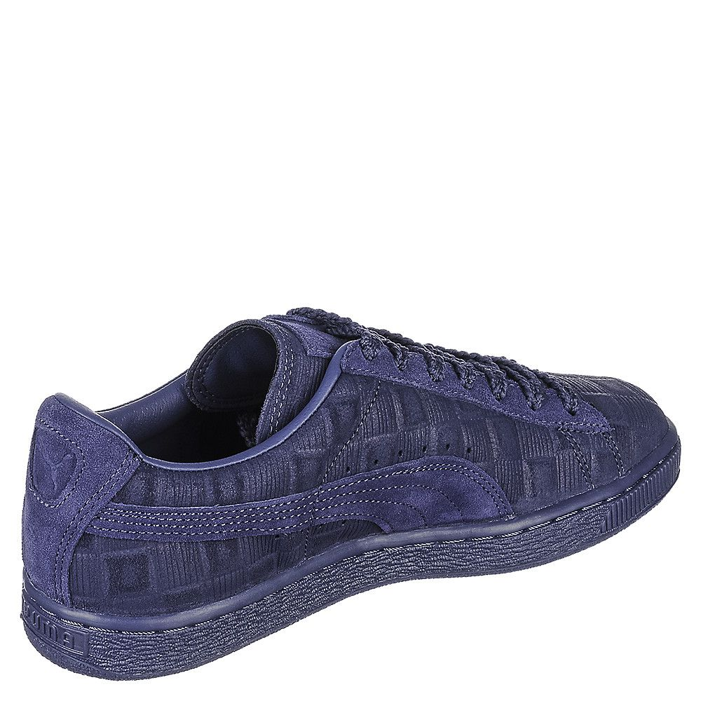 8f683ab35f1 Women s Solange Suede Classic Squares Navy Blue