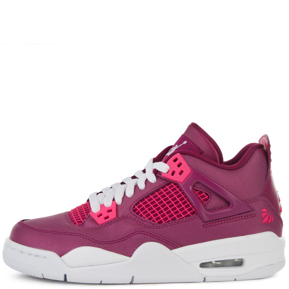 cf4e4ccbfef5 AIR JORDAN RETRO 4 TRUE BERRY RUSH PINK-WHITE ...