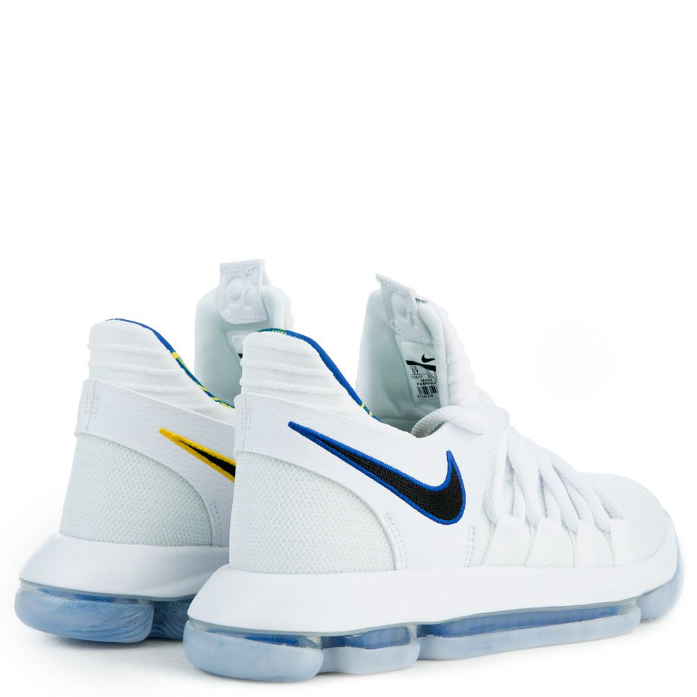 95afc16b319c Zoom KD10 Limited NBA WHITE GAME ROYAL-UNIVERSITY GOLD