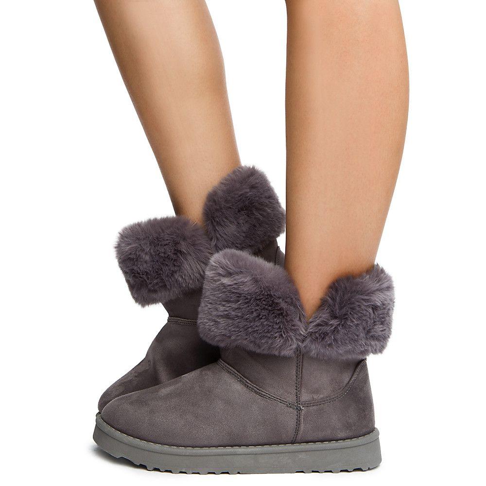 c4691e7176c3 Women s Amelia Ankle Bootie Grey - New Arrivals - Fashion Shoes - Shoes -  Women