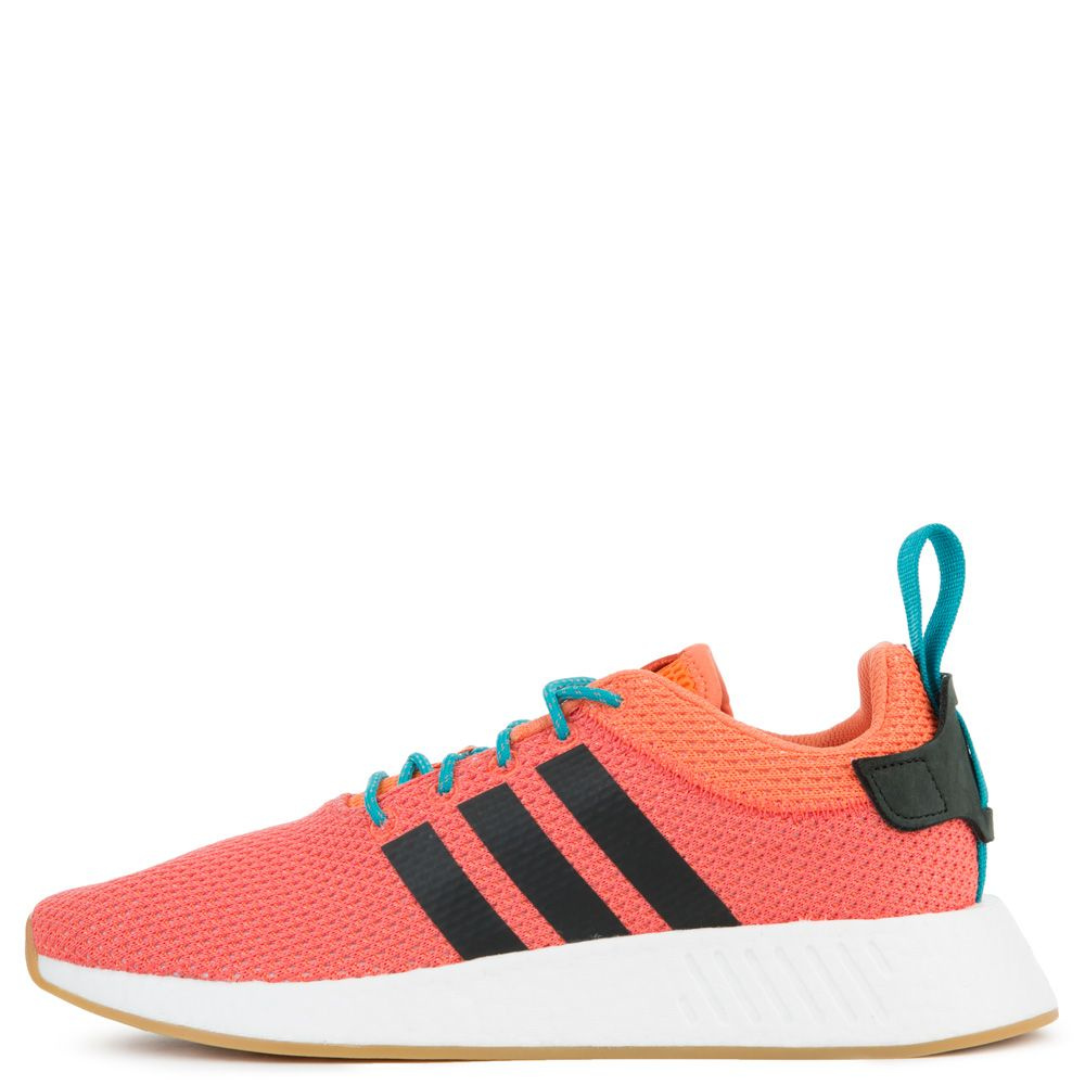 4b3b118fd Adidas Sneaker NMD R2 Summer Orange Gum3 White
