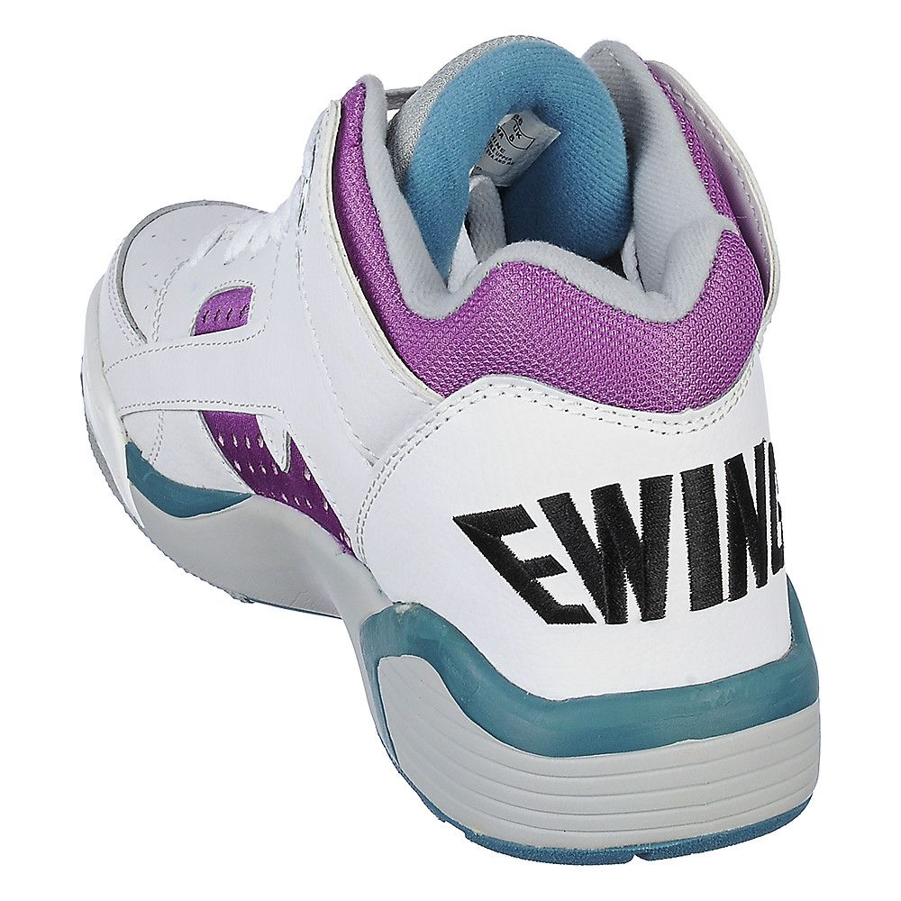 Patrick Ewing Wrap Men s White Athletic Lifestyle Sneaker  f64ed12a7