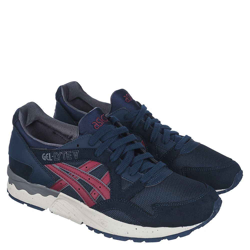 lowest price 23c72 657e2 Men's Casual Sneaker Gel-Lyte V Navy/Burgundy