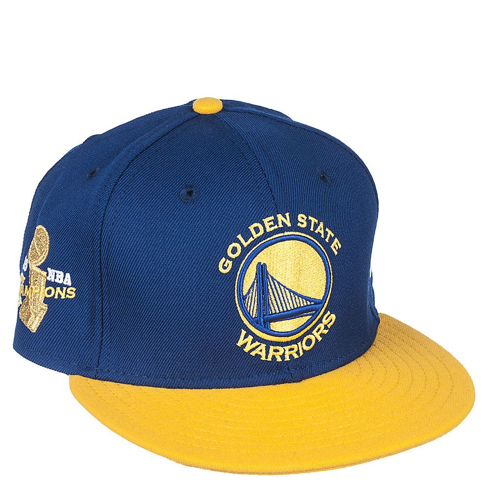 New Era Golden State Warriors Blue Snapback Hat  c52e45b3a45c