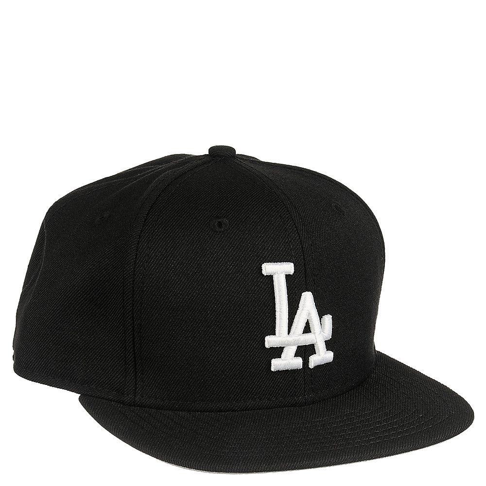 48d8be5e1b2 New Era Caps Black   White La Dodgers Snapback