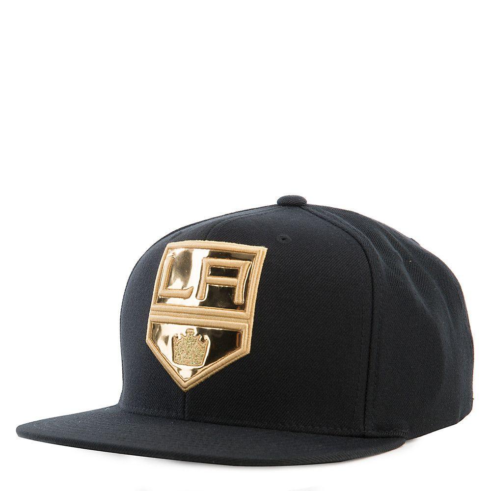 Los Angeles Kings Black Snapback Hat  72603dd0c3c