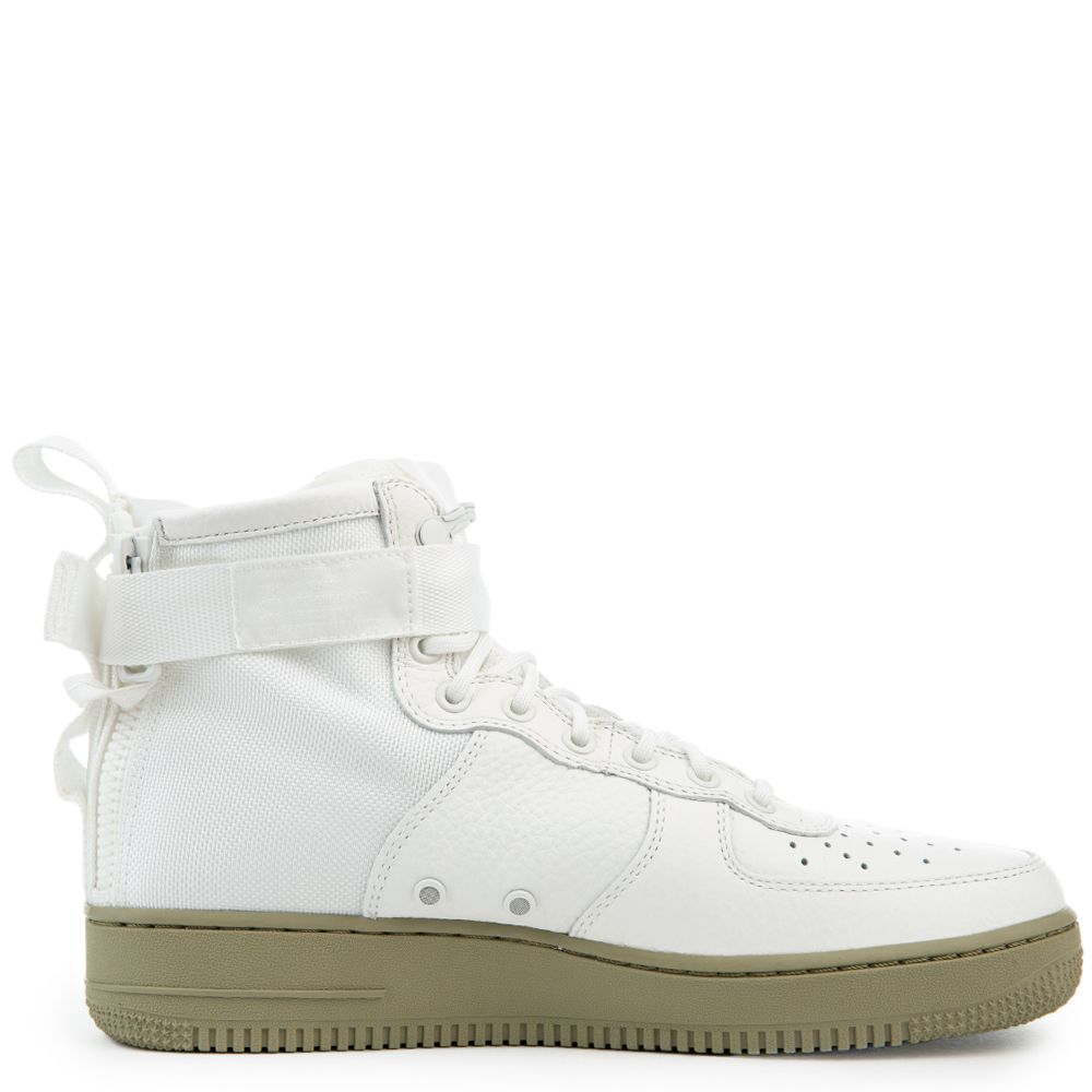6ab4d30db819 Sf Air Force 1 Mid Shoe IVORY IVORY-NEUTRAL OLIVE