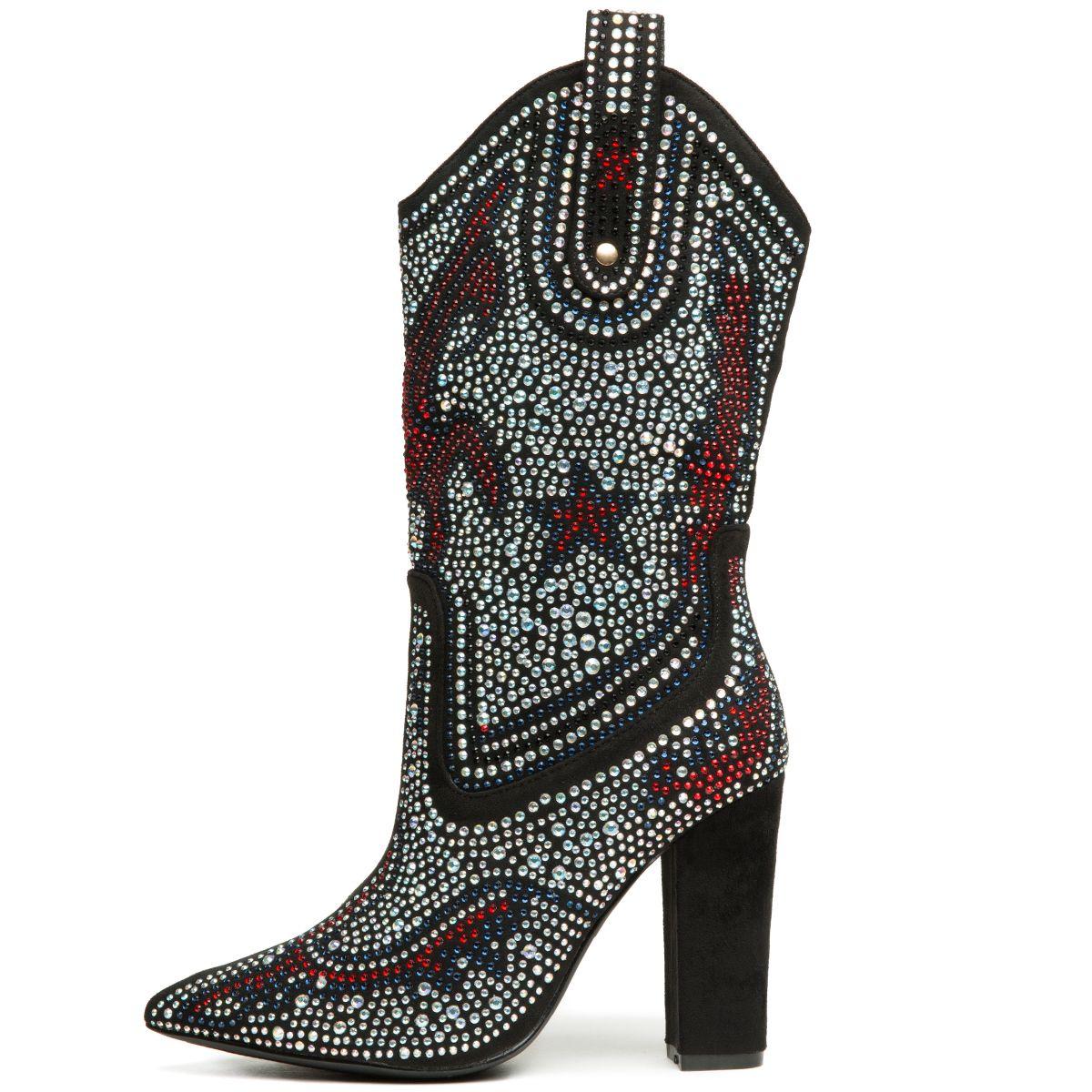 ac014fc4f6f Cape Robbin Beautiful-15 Women's Black Boots BLACK