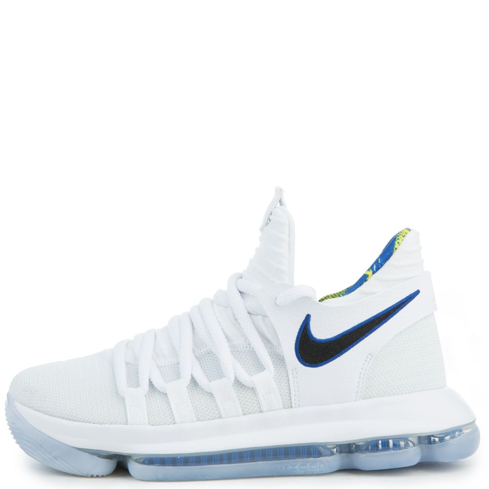 b05ad4955f43 Zoom KD10 Limited NBA WHITE GAME ROYAL-UNIVERSITY GOLD