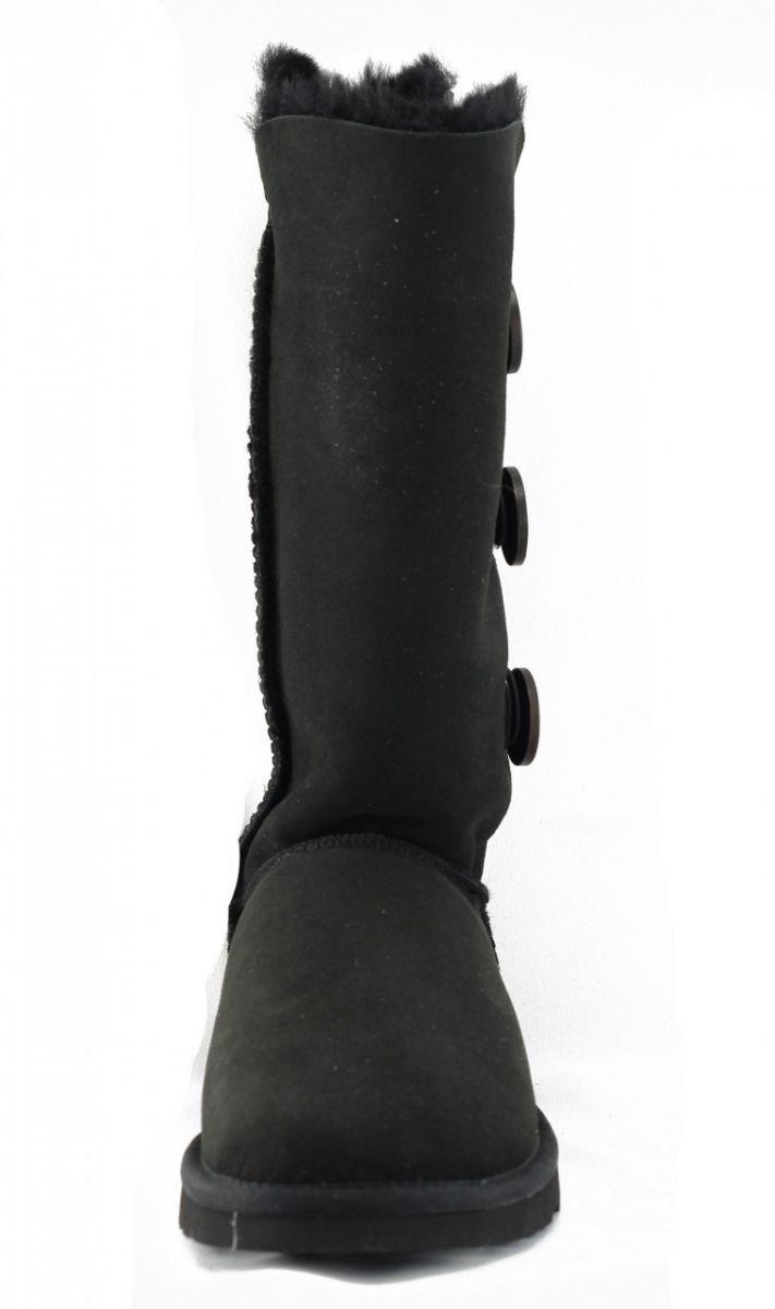 9e304f58605 UGG Australia for Women: Bailey Triplet Black Boots BLACK