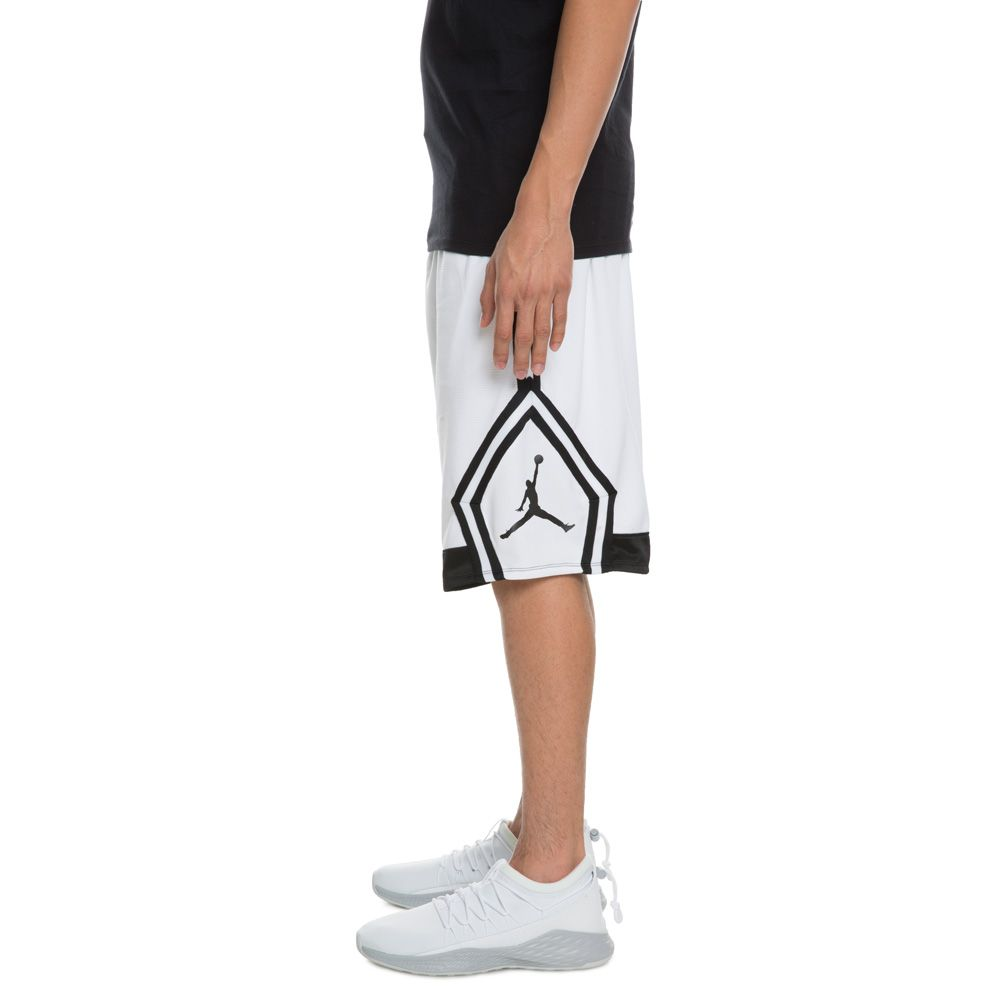 c8af4c10e66 Jordan Rise Diamond Short WHITE BLACK