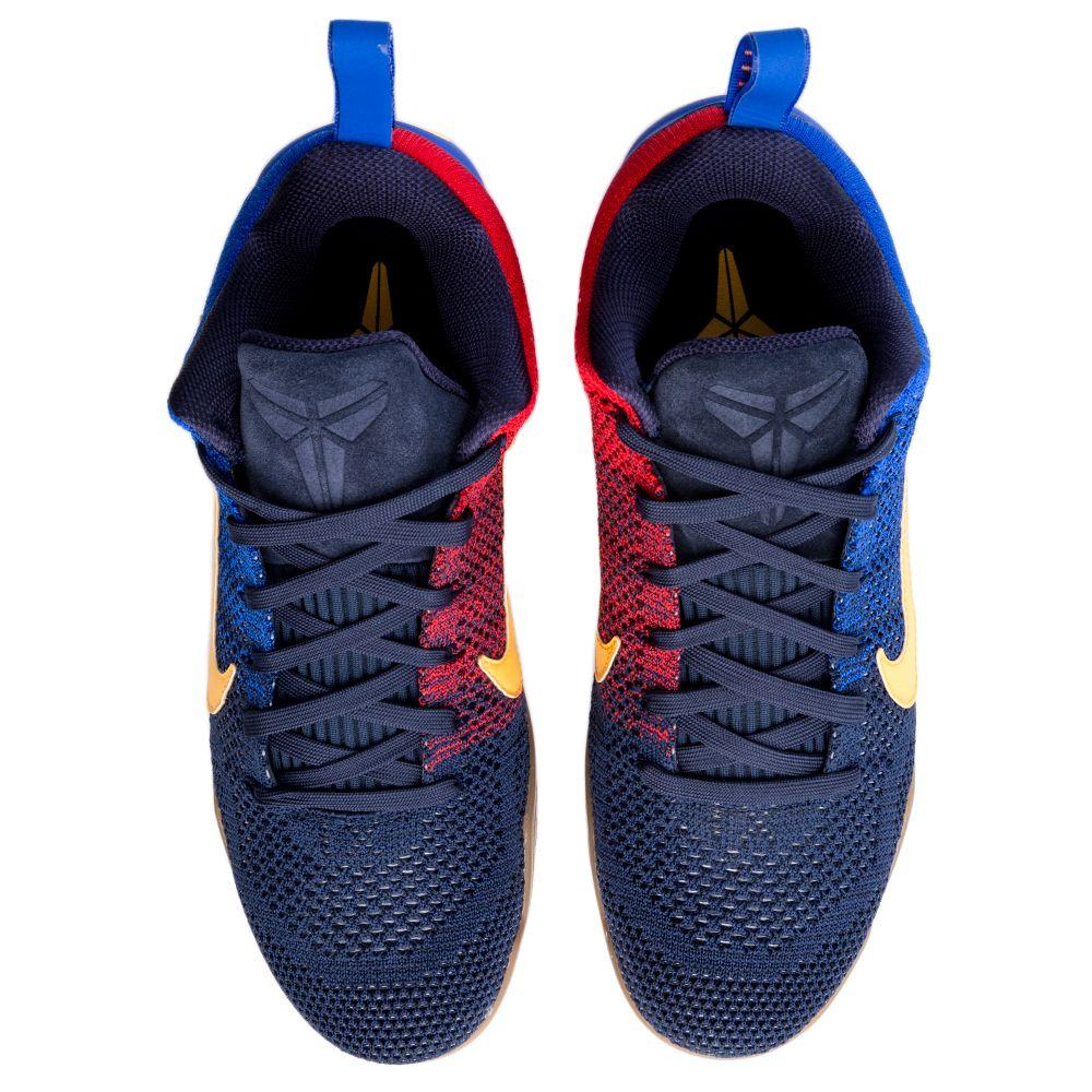 Kobe XI Elite Low FCB Navy Yellow Red Gum fb08f9232