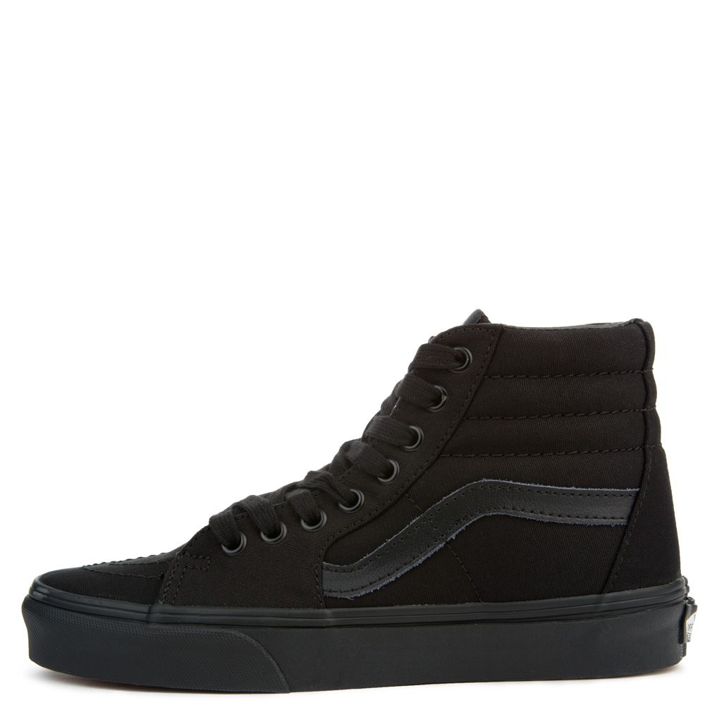 d74547846a UNISEX VANS SK8-HI BLACK BLACK BLACK