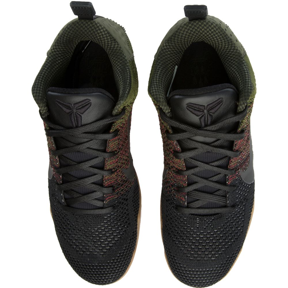 huge selection of 96848 63a3b KOBE XI ELITE LOW Black Red Green Gum