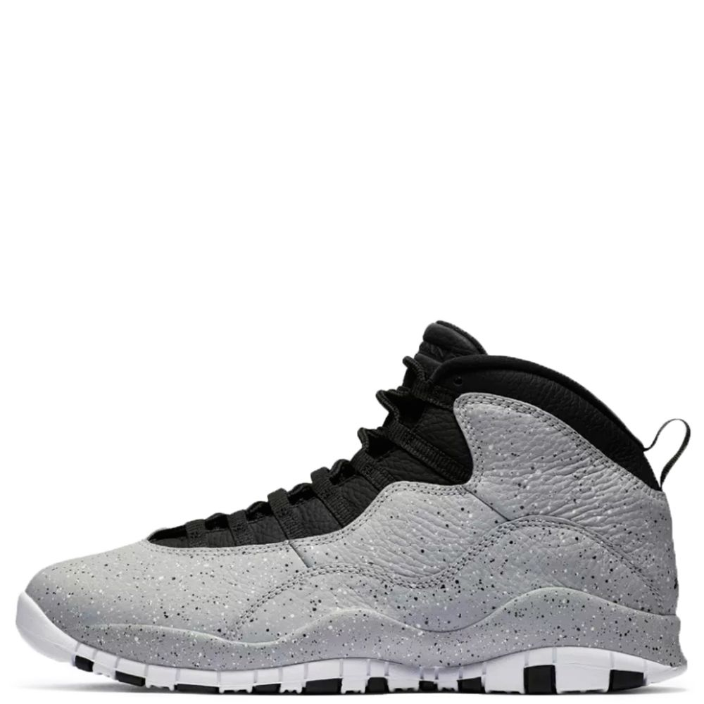 ec5fdc717563ef men s air jordan 10 retro lt smoke grey black-infrared 23-white