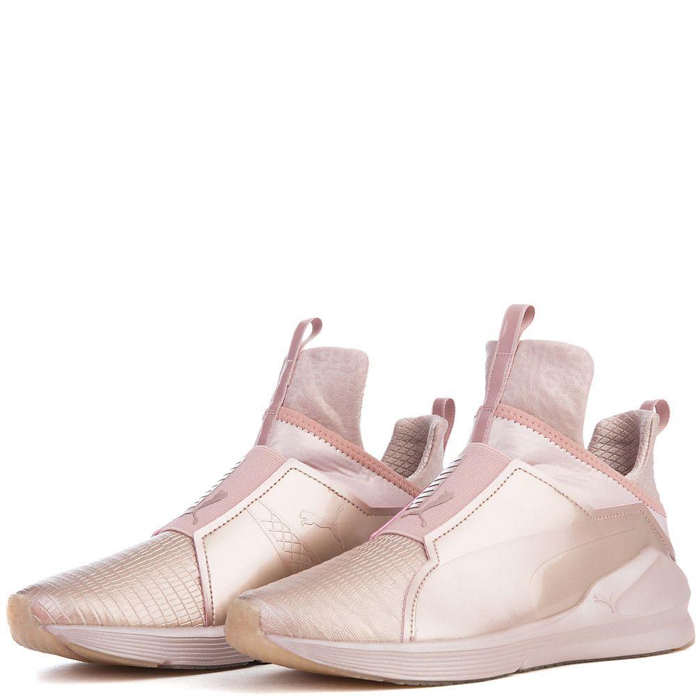 282e39b9 Women's Fierce Metallic Athletic Lifestyle Sneaker Rose Gold