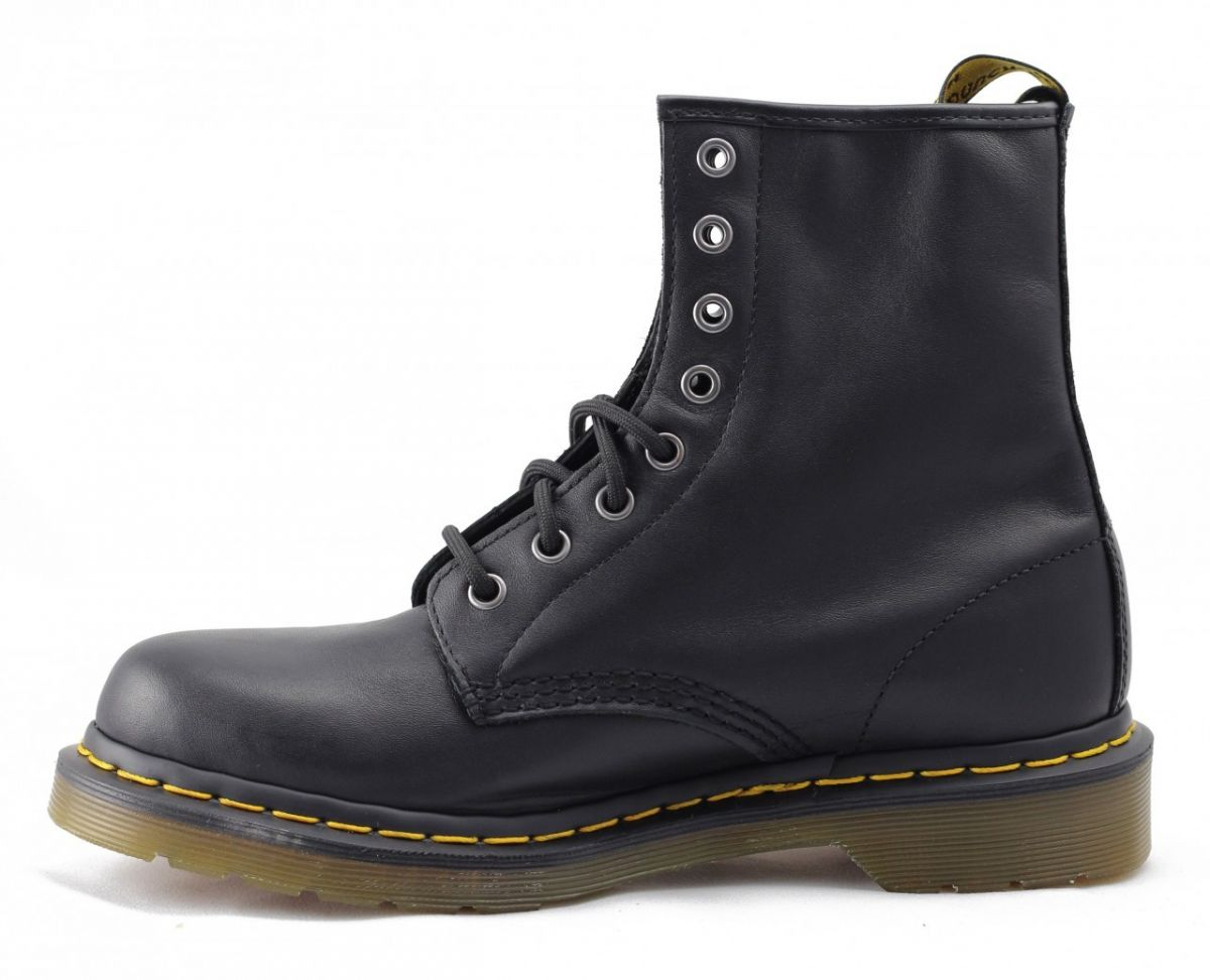 07cdd49ff89 Dr Martens for Men: 1460 Nappa Leather Black Boots Black