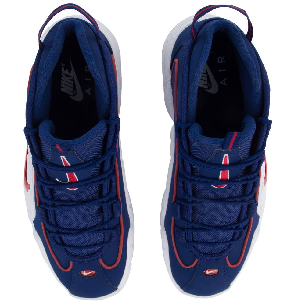 newest 08af0 df0d6 ... MEN S NIKE AIR MAX PENNY DEEP ROYAL BLUE GYM RED WHITE ...