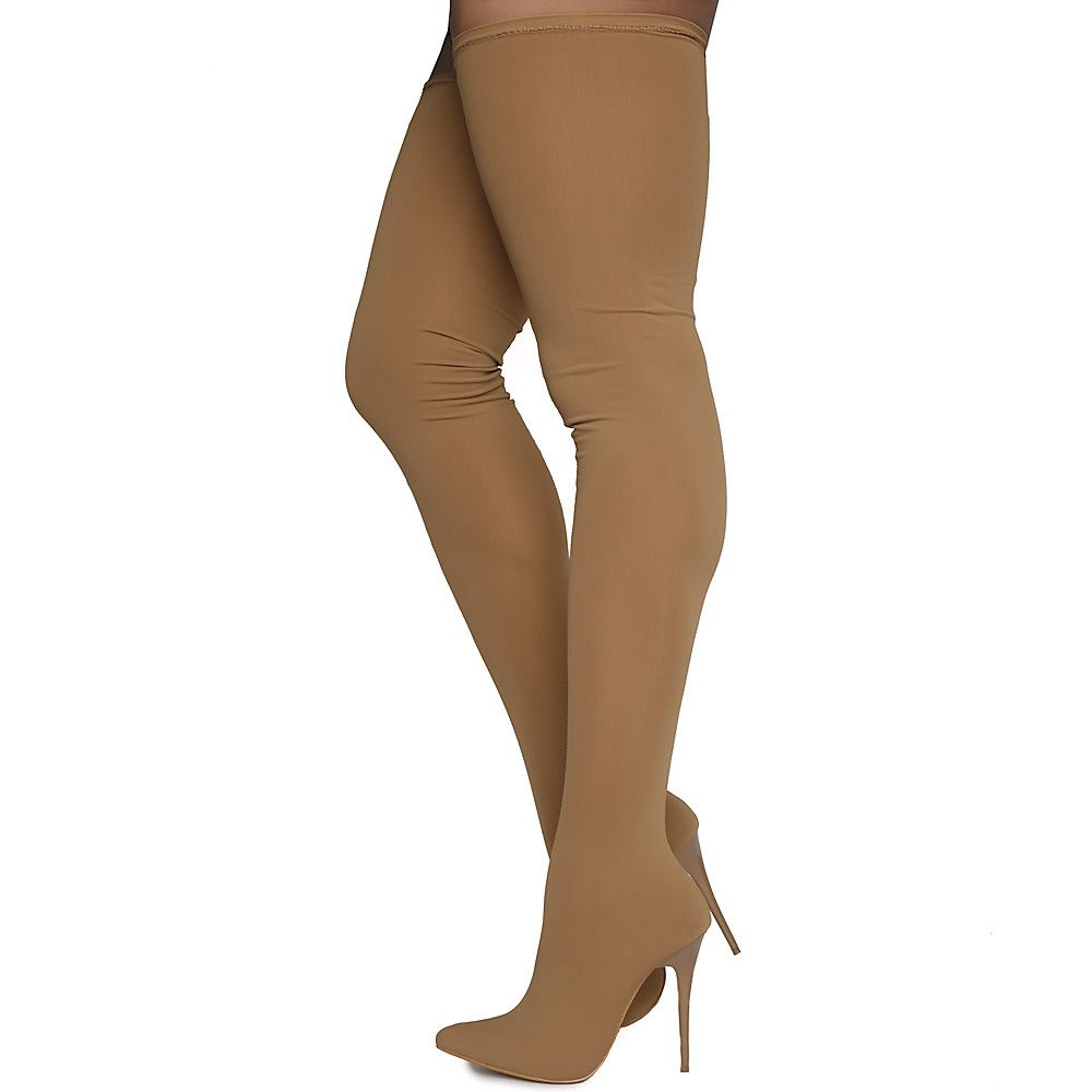 eac38058e03 Women s Amelie Thigh-High Boots Taupe