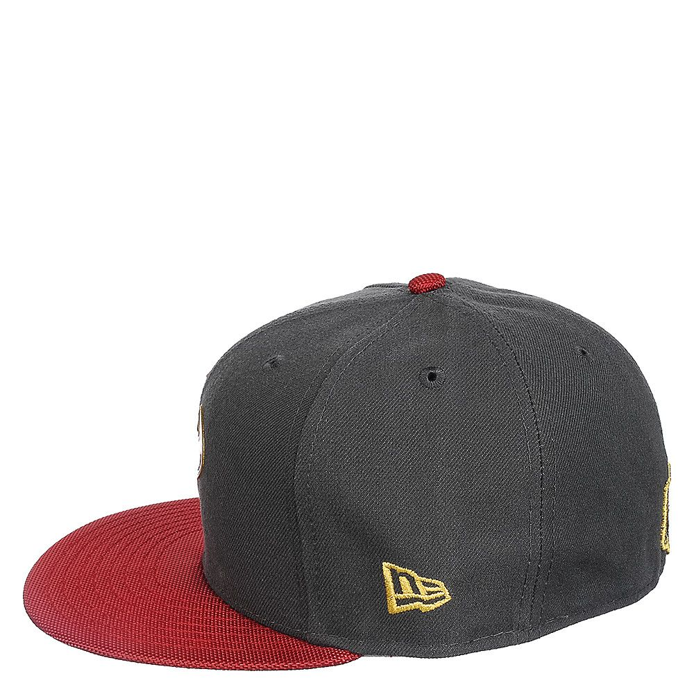 promo code e3f83 62cd7 Houston Texans Fitted Cap Grey Red
